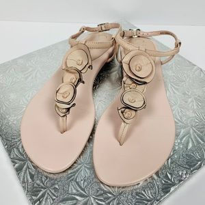 Come Haan Air Size 7 B Halsey Pink Thong Sandals